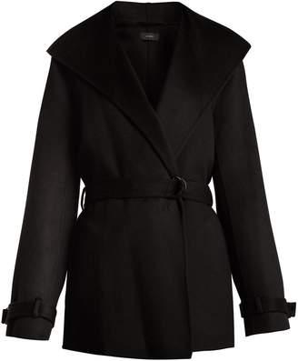 Joseph Lima wrap wool and cashmere-blend coat