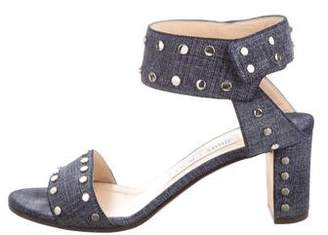 Jimmy Choo Studded Suede Sandals