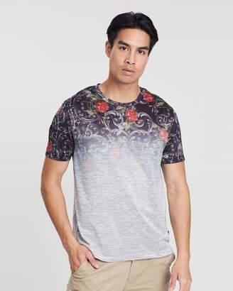 Floral Baroque Fade T-Shirt