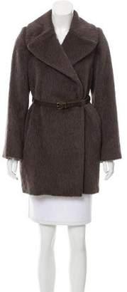 Marc Jacobs Llama And Wool-Blend Coat
