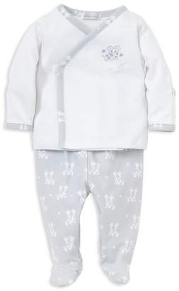 Kissy Kissy Boys' Embroidered Giraffe Shirt & Footed Pants Take Me Home Set, Baby - 100% Exclusive