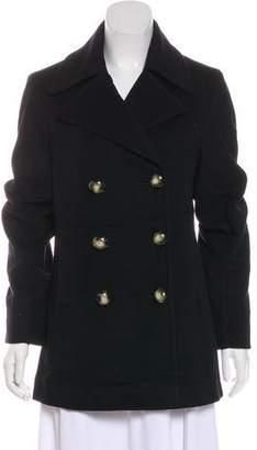 Fleurette Double-Breasted Wool Jacket
