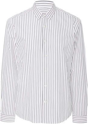 Ami Classic Striped Dress Shirt