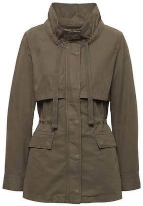 Banana Republic Lightweight Twill Utility Jacket