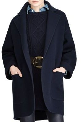Polo Ralph Lauren Madison Double-Face Wool Coat $598 thestylecure.com