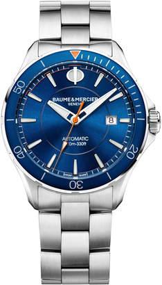 Baume & Mercier Clifton Automatic Bracelet Watch, 42mm