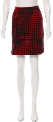 Vionnet Abstract Print Skirt
