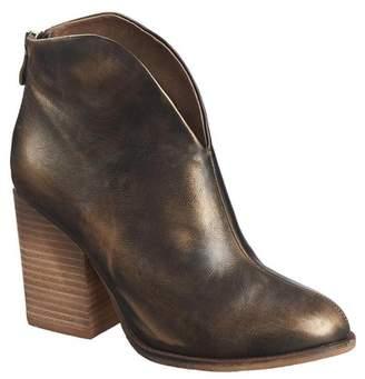 Antelope Hi-Cut Leather Bootie