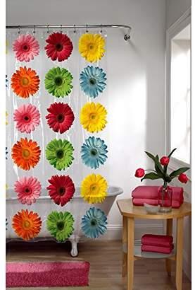 Gerber Maytex Photoreal Daisy Waterproof PEVA Shower Curtain