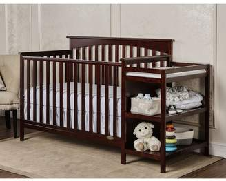 Dream On Me Chloe 3-in-1 Convertible Crib and Changer Combo