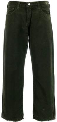 Massimo Alba cropped straight-leg trousers
