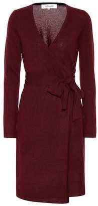 Diane von Furstenberg Linda cashmere wrap dress