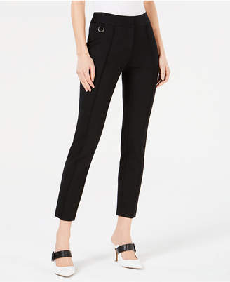 Alfani Pintuck Comfort-Waist Skinny Pants