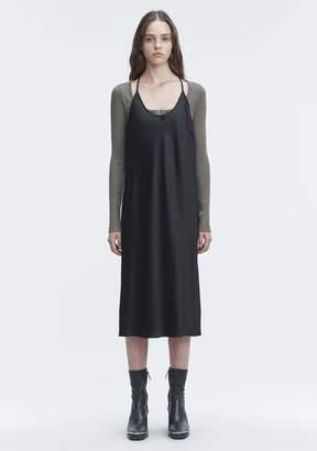 Alexander Wang WASH & GO SLIP DRESS 3/4 Length Dress