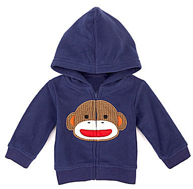 Baby Starters Newborn Sock Monkey Cardigan
