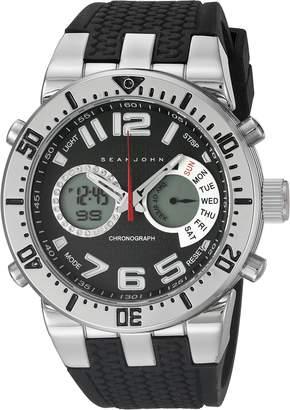 Sean John Men's 10021794 Sport Analog-Digital Display Analog Quartz Black Watch