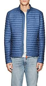 Save The Duck SAVE THE DUCK MEN'S CHANNEL-QUILTED JACKET-BLUE SIZE M