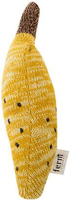 ferm LIVING Fruiticana Knitted Rattle - Banana