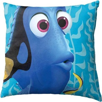 "Dory & Nemo Disney Pixar Finding Dory Blue Water 12"" Square Toss Pillow"