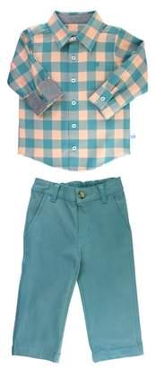 Buffalo David Bitton RuggedButts Plaid Shirt & Pants Set