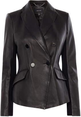 Karen Millen Tailored Leather Jacket