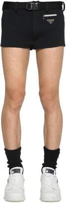 Prada Swim Shorts W/Belt