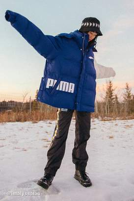 Puma X Ader Error Oversized Colorblock Puffer Jacket