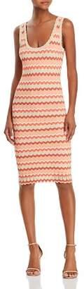 Ronny Kobo Alula Striped Knit Dress