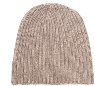 Thom Sweeney - Ribbed Cashmere Beanie Hat - Mens - Grey
