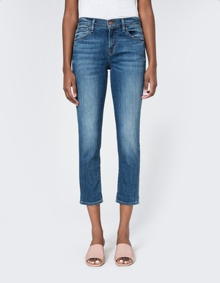 Sadey Slim Straight in Old Rose $238 thestylecure.com