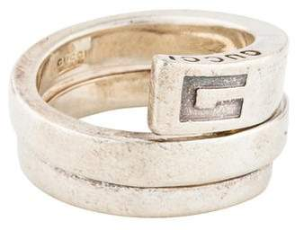 Gucci Logo Coil Ring