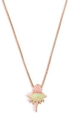 Alex and Ani Pink Uriel Flower Pendant Necklace