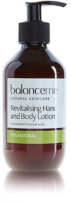 Balance Me Revitalising Hand & Body Lotion 280ml
