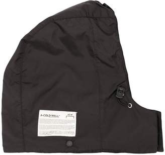 A-Cold-Wall* logo patch hood