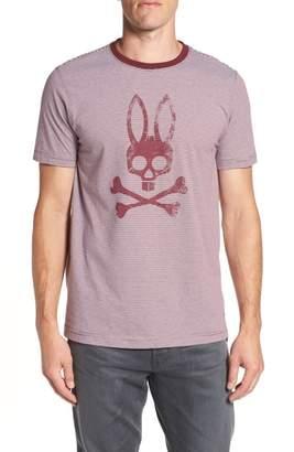 Psycho Bunny Stripe Logo Graphic T-Shirt