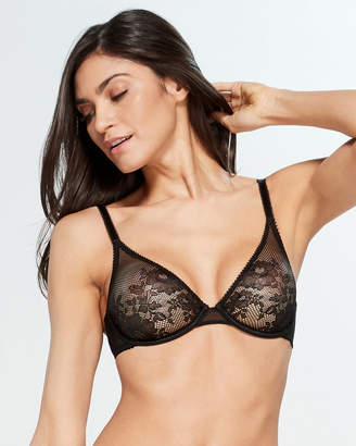 1736de19ea5ef L Agent by Agent Provocateur L Agent By Agent Provocateur Black Layla  Unlined Plunge