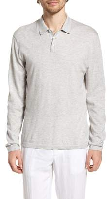 James Perse Fine Gauge Regular Fit Cotton Polo