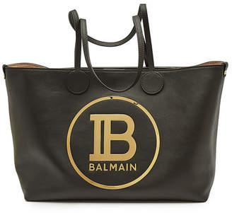 Balmain Leather Shopper