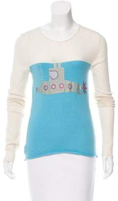Lucien Pellat-Finet Embellished Cashmere Sweater