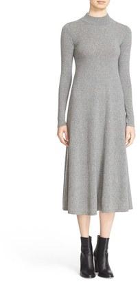 Women's Autumn Cashmere Cashmere Midi Dress $429 thestylecure.com