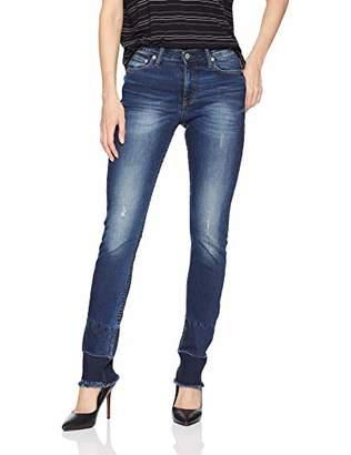 Calvin Klein womens CKJ 021 Mid Rise Slim Fit Jean