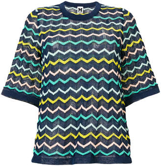 M Missoni chevron knit T-shirt
