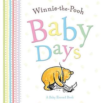 Pooh Baby Rainbow Designs Winnie The Days Record Book