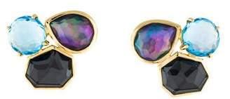 Ippolita 18K Rock Candy Multistone Midnight Rain Earrings
