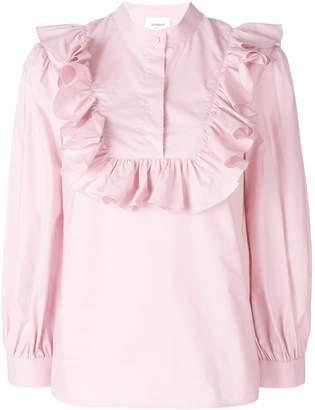 Dondup ruffle-trim blouse