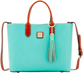 Dooney & Bourke Pebble E W Waverly Tote & Sammi Tassel