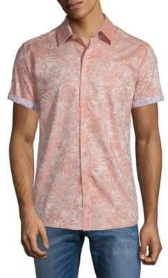 Robert Graham Fallen Oaks Cotton Button-Down Shirt