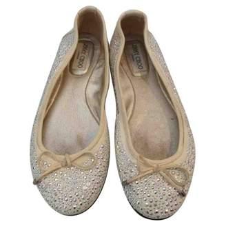 Jimmy Choo Leather ballet flats