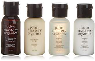 John Masters Organics Essential Trial Set for Hair and Body 120 ml