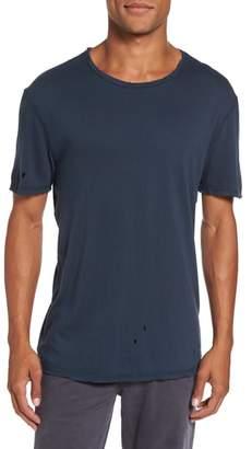 AG Jeans Ramsey Shredded Hem T-Shirt